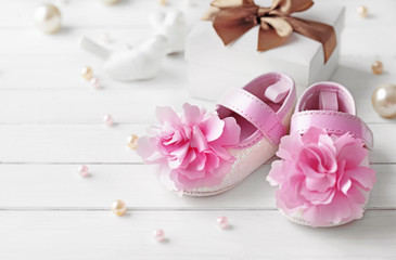 baby shoes. baby birth accessories