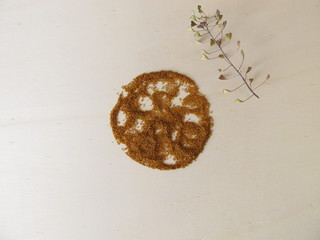 Edible Shepherd's purse seeds