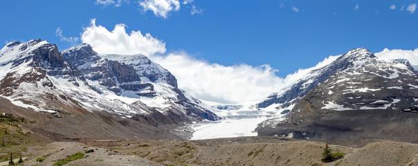 Kanada, Athabasca Gletscher am Columbia Icefield, Canadian Rockies