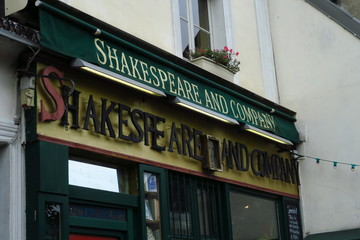 Librairie Shakespeare and Company. Paris. France. Octobre 2019.