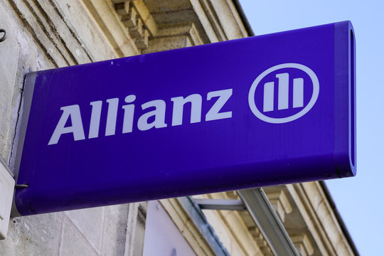 allianz insurance logo sign store office brand financial services providers