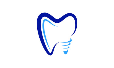 Dental Clinic logo template, Dental Care logo designs vector, Health Dent Logo design vector template linear style. Dental clinic Logotype concept icon. Tooth Teeth Smile Dentist Logo,