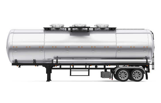 Tank Trailer Isolated