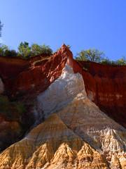 Papiers peints Marron Terres Ocres de Provence