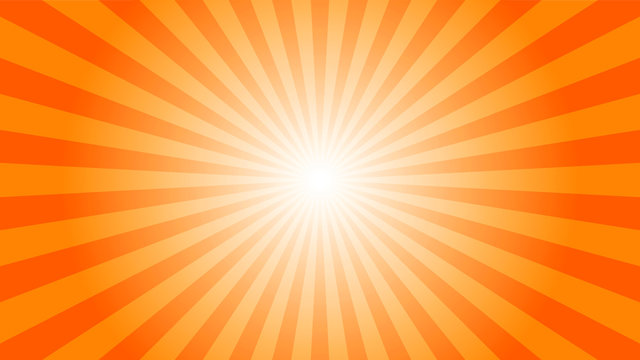 illustration vector of Sunburst Pattern