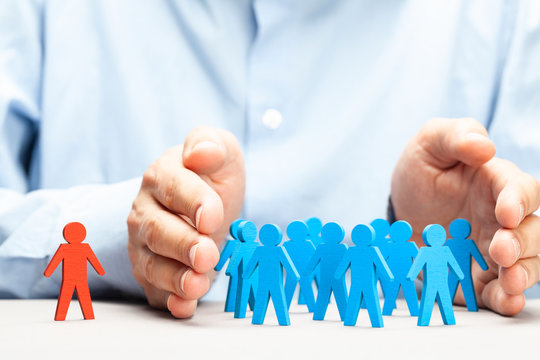 Wrong staffing. Discrimination in a business team.