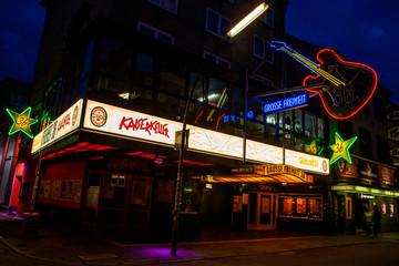 The Kaiserkeller in Hamburg, Germany
