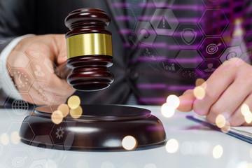 Concept of a legal decision.