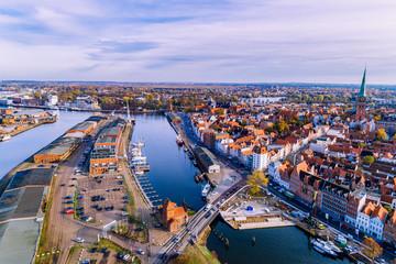 Drehbrücke zur Lübecker Altstadt