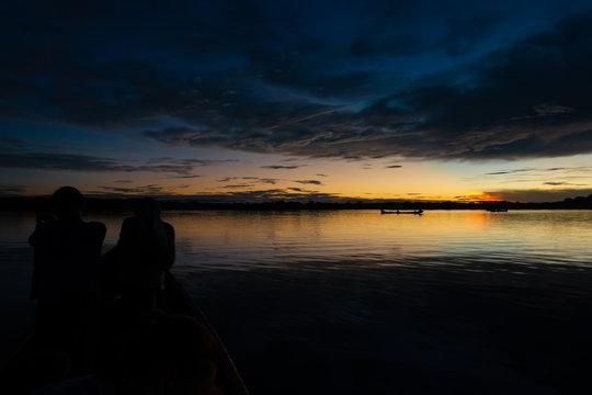 Sunset - Cuyabeno Wildlife Reserve