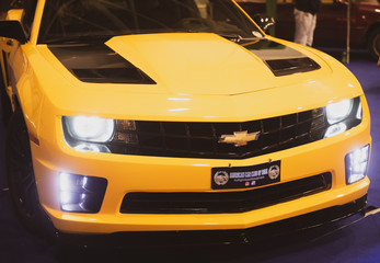 Chevrolet camaro front view