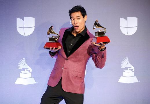 The 20th Annual Latin Grammy Awards – Photo Room– Las Vegas, Nevada, U.S., November 14, 2019 – Tony Succar