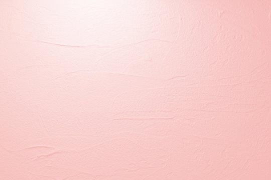 塗り壁のテクスチュア(薄いピンクの背景)
