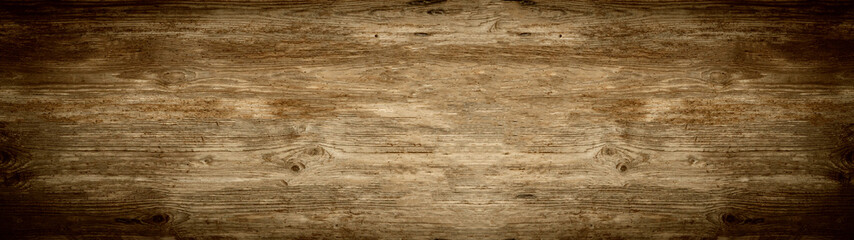 Stores à enrouleur Bois old brown rustic dark brown wooden texture - wood background panorama banner long