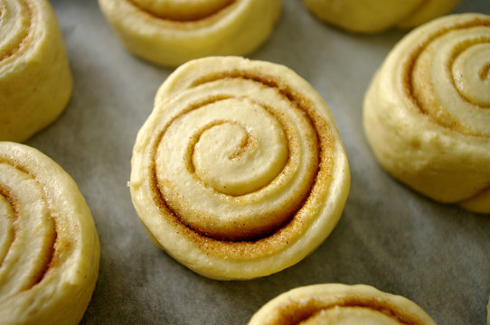 Cinnamon yeast rolls, fresh dough, home made