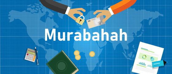 Murabahah or Murabaha is Islam method of mark up or cost plus financing. A contract of sale between the bank and its client for the sale of goods at a price plus an agreed profit margin for the bank.