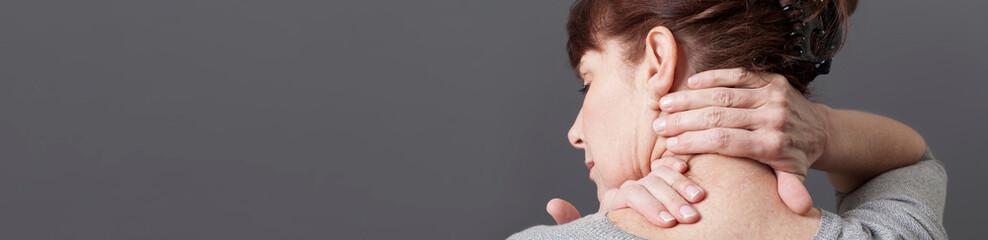 neck and shoulder gestures for releasing tension