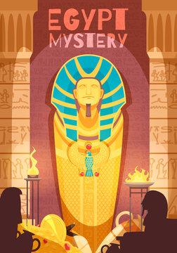 Egyptian Mummy Mystery Poster
