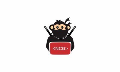 monkey ninja logo