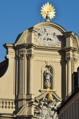 Fotomurales - Chiesa dello Spirito Santo - Monaco di Baviera