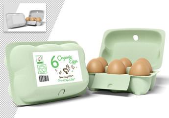 Egg Carton Mockup