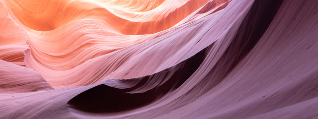 Montage in der Fensternische Rosa hell abstract background in beautiful Antelope Canyon