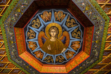 Icon In The Monastery of Varlaam - Meteora, Greece
