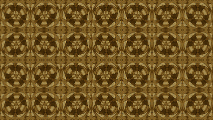 Colored ethnic fabric, rounded shapes