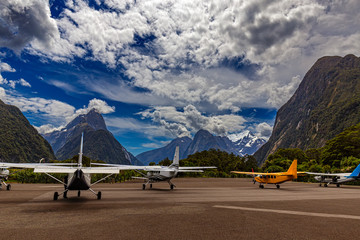 Milford Sound Airport, New Zealand