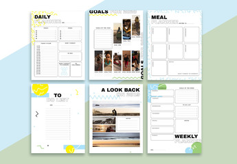 Self-Motivation Planner Set