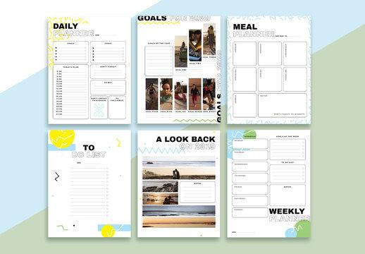 Self-Motivation Planner Set