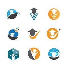 Education symbol vector icon