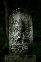 仏像(山寺にて)
