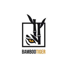 bamboo and tiger logo design inspiration