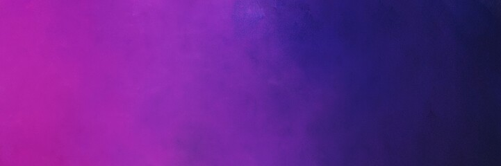 painting background illustration with moderate violet, dark orchid and very dark blue colors and space for text or image. can be used as header or banner Fotomurales