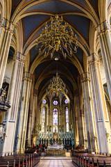 Zagabria, Croazia, interno della Cattedrale