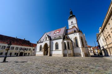 Zagabria, Croazia, chiesa di San Marco