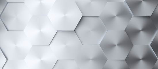 Abstract modern steel homeycomb background