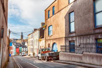 street in old Cork city, Ireland