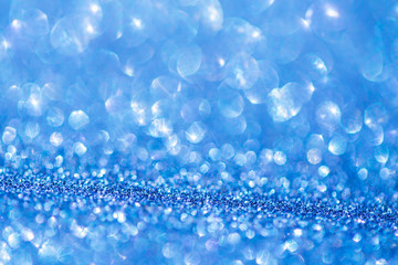 Abstract background of glitter. Holiday background.
