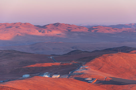 Base of ESO Paranal Observatory in Chile