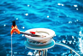Fishing reel or rod reel, rod.