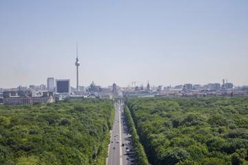 Foto op Canvas Berlijn Arial view of Berlin
