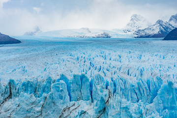 Fotorolgordijn Blauwe jeans Closeup of Perito Moreno Glacier in Patagonia, Argentina