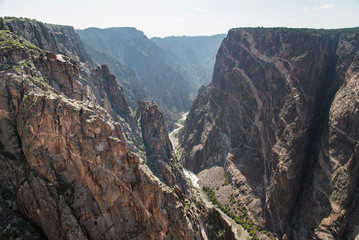 Black Canyon of the Gunnison - The Painted Wall
