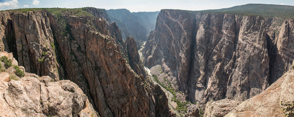 Black Canyon of the Gunnison - The Painted Wall Panoramic