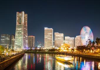 横浜ベイエリア 夜景