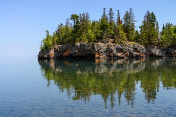 Ellingson Island on Lake Superior Minnesota