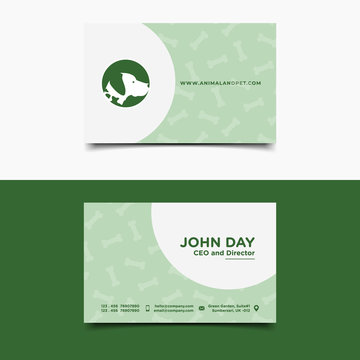 Animal and Pet Business card