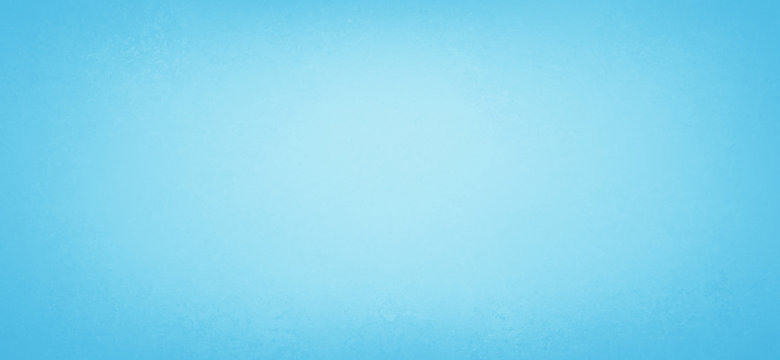 Blue background texture with pastel border with soft white center in abstract paper illustration